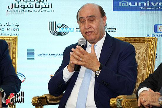 مؤتمر أخبار اليوم الاقتصادي الخامس جلسة الاستثمار فى سيناء (23)