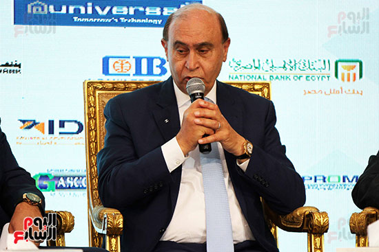 مؤتمر أخبار اليوم الاقتصادي الخامس جلسة الاستثمار فى سيناء (14)