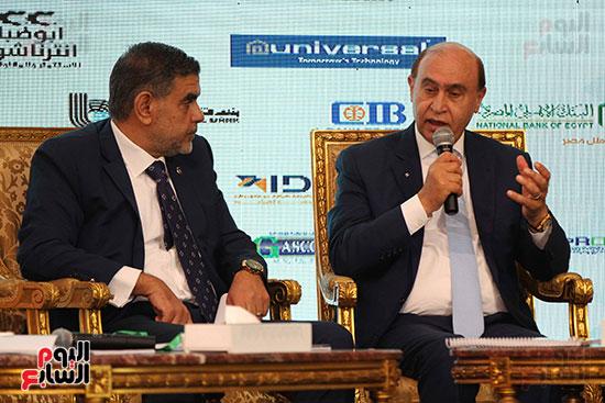 مؤتمر أخبار اليوم الاقتصادي الخامس جلسة الاستثمار فى سيناء (15)