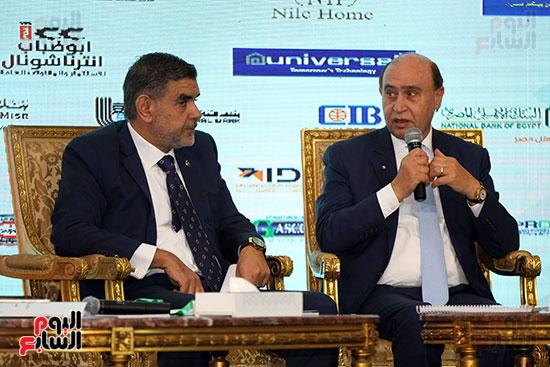 مؤتمر أخبار اليوم الاقتصادي الخامس جلسة الاستثمار فى سيناء (17)