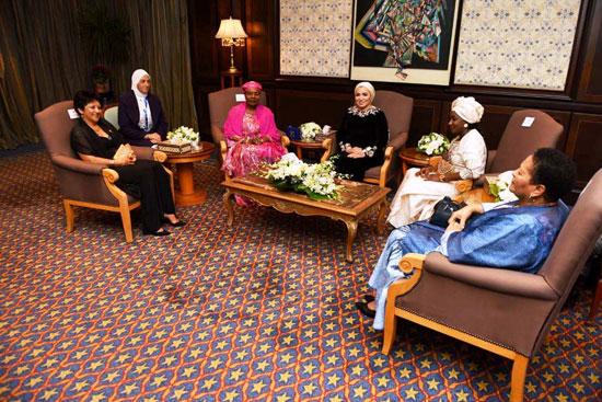 السيدة إنتصار السيسى قرينة رئيس الجمهورية (12)