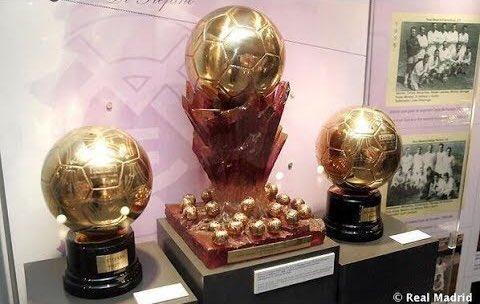 الكرة الذهبية السوبر تتوسط ذهبيتى 57 و 59 لألفريدو دي سيتفانو