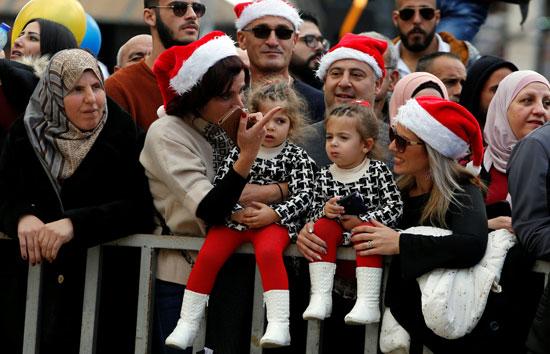 صور حشود المسيحيين فى بيت لحم (8)