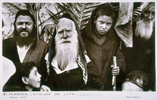 عائلة يهودية من المغرب
