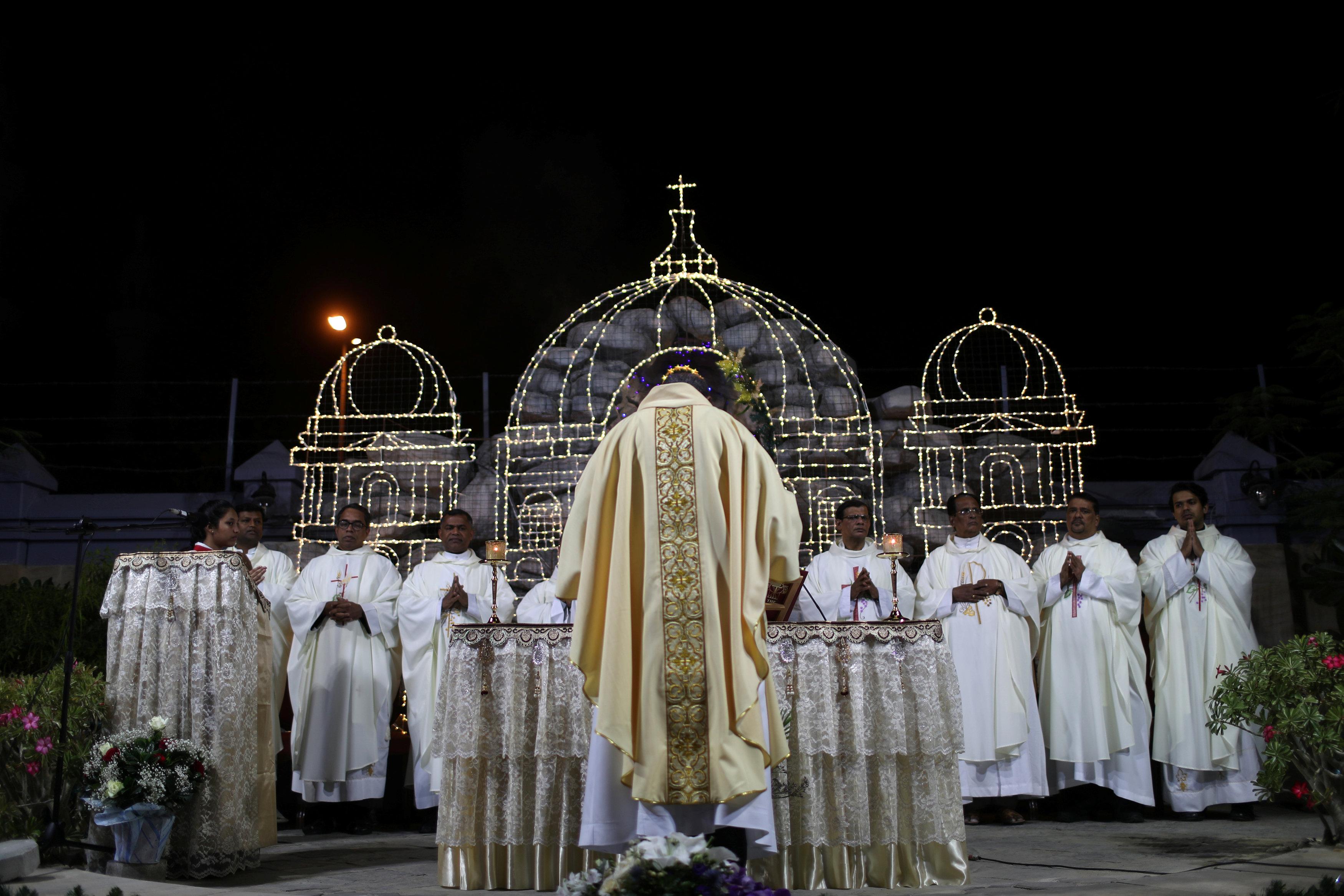 كنيسة سانت ماريا فى دبى