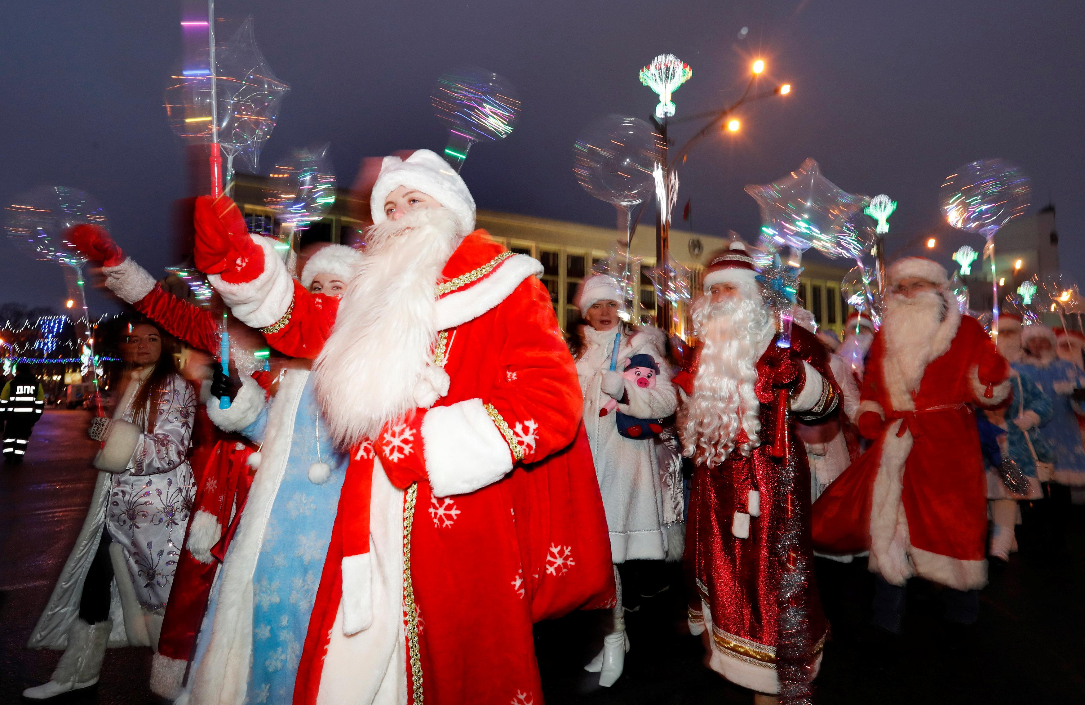 احتفالات أعياد الميلاد فى بيلاروسيا