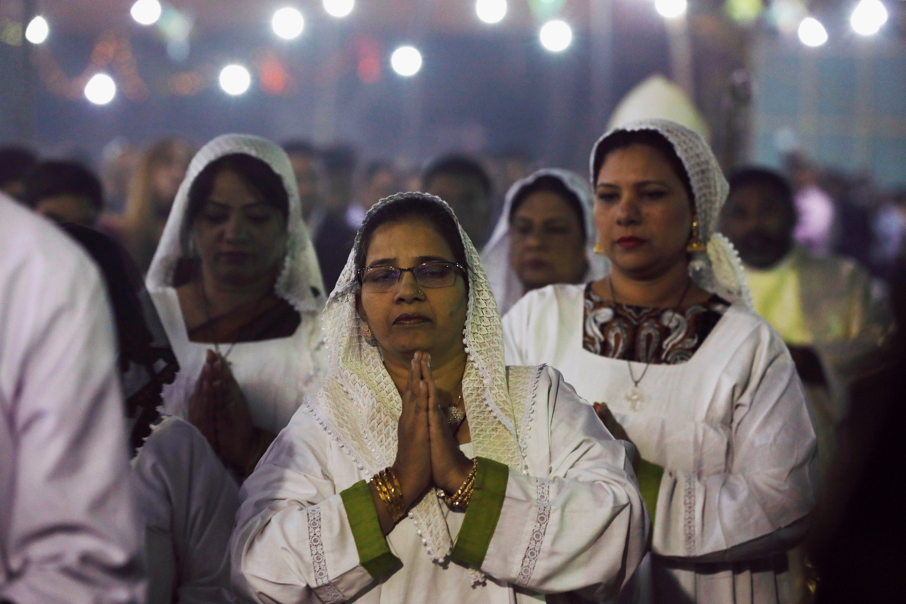 جانب من احتفالات أعياد الميلاد بباكستان
