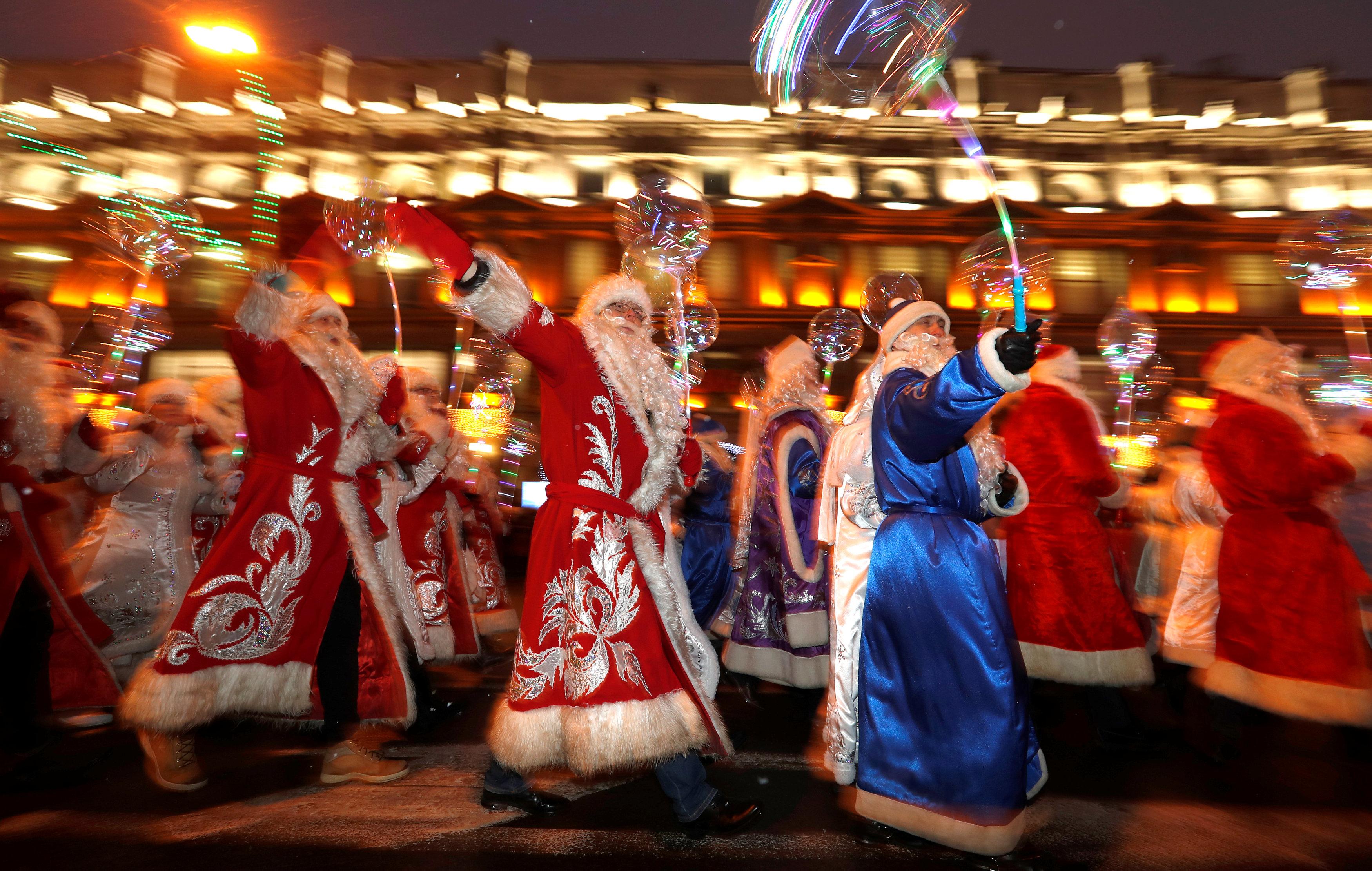 جانب من الاحتفالات فى بيلاروسيا