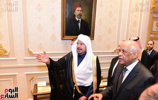 على عبد العال ورئيس مجلس الشورى الس (12)