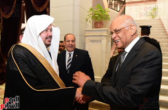 على عبد العال ورئيس مجلس الشورى الس (14)