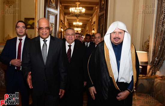على عبد العال ورئيس مجلس الشورى الس (3)