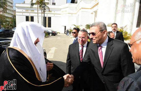 على عبد العال ورئيس مجلس الشورى الس (2)