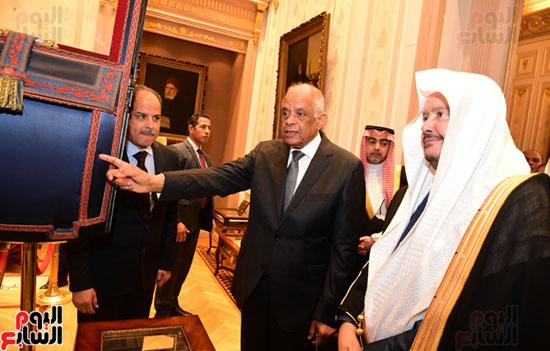 على عبد العال ورئيس مجلس الشورى الس (11)