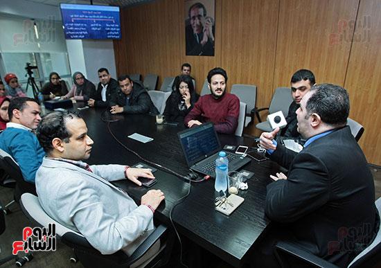 الخبير الاقتصادى إيهاب سعيد عضو مجلس إدارة البورصة المصرية (2)