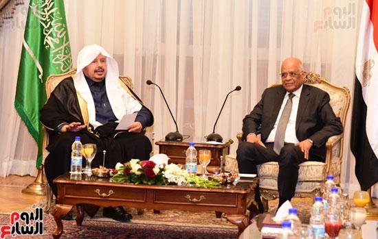على عبد العال ورئيس مجلس الشورى الس (7)