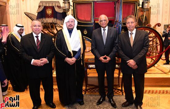 على عبد العال ورئيس مجلس الشورى الس (13)