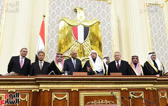 على عبد العال ورئيس مجلس الشورى الس (8)