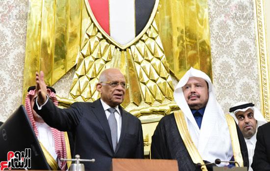 على عبد العال ورئيس مجلس الشورى الس (9)
