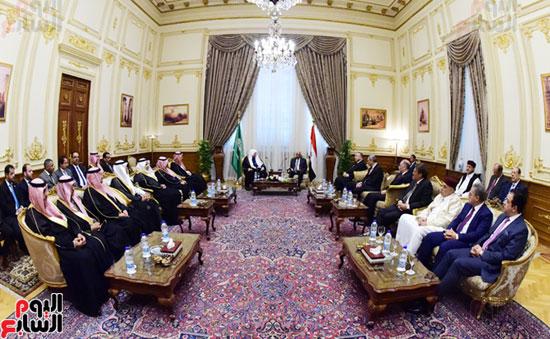 على عبد العال ورئيس مجلس الشورى الس (6)