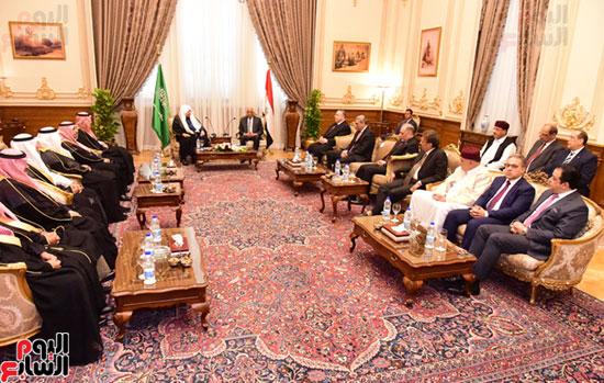 على عبد العال ورئيس مجلس الشورى الس (4)