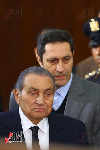 حسنى مبارك قضية اقتحام السجون (18)