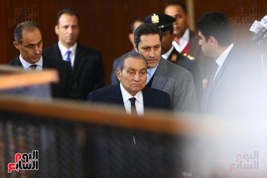 حسنى مبارك قضية اقتحام السجون (20)