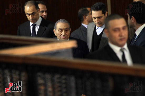 حسنى مبارك قضية اقتحام السجون (64)