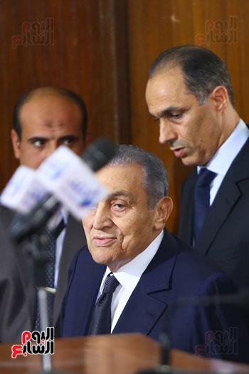 حسنى مبارك قضية اقتحام السجون (4)