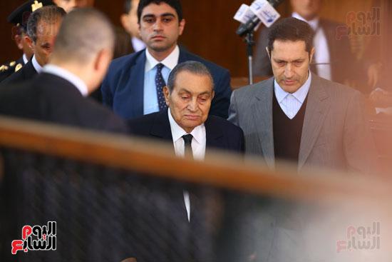 حسنى مبارك قضية اقتحام السجون (21)