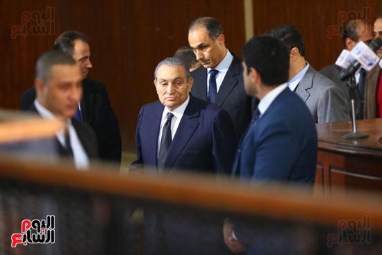حسنى مبارك قضية اقتحام السجون (7)