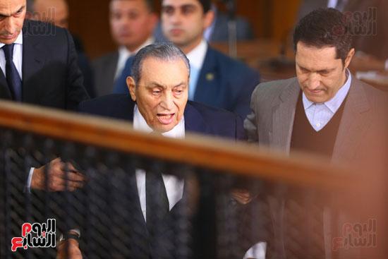 حسنى مبارك قضية اقتحام السجون (31)