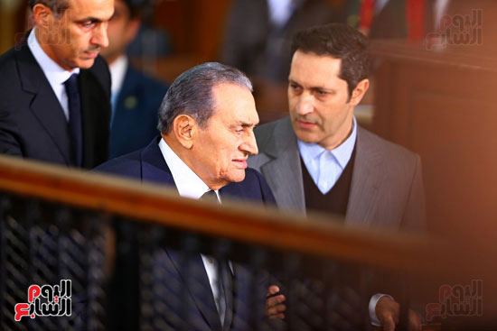 حسنى مبارك قضية اقتحام السجون (34)