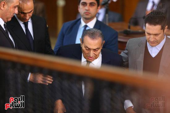 حسنى مبارك قضية اقتحام السجون (25)