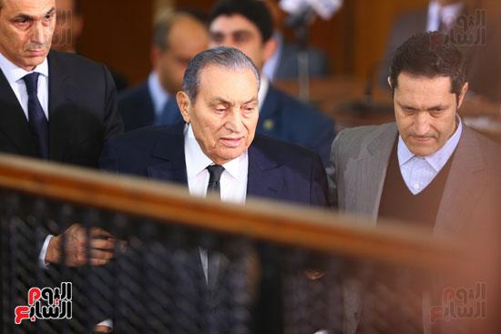 حسنى مبارك قضية اقتحام السجون (32)