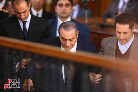 حسنى مبارك قضية اقتحام السجون (28)