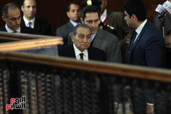 حسنى مبارك قضية اقتحام السجون (65)