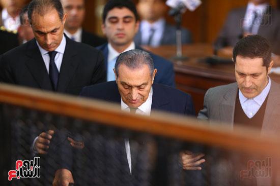 حسنى مبارك قضية اقتحام السجون (27)