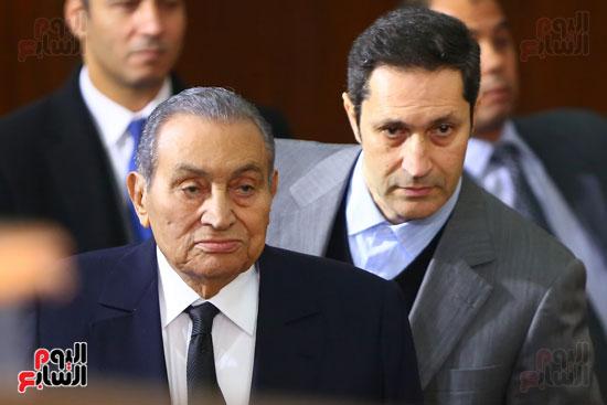 حسنى مبارك قضية اقتحام السجون (14)