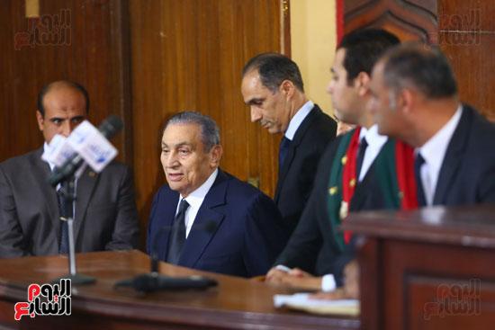 حسنى مبارك قضية اقتحام السجون (2)