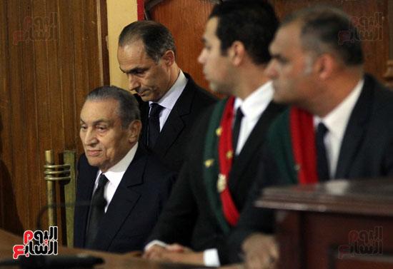 حسنى مبارك قضية اقتحام السجون (58)