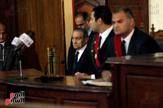 حسنى مبارك قضية اقتحام السجون (57)
