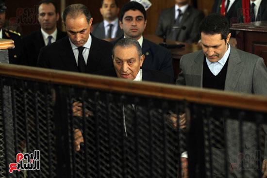 حسنى مبارك قضية اقتحام السجون (69)