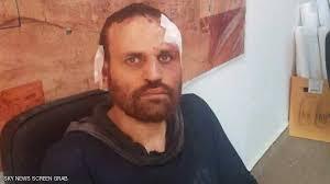 الارهابي هشام عشماوى عقب القبض عليه فى درنة