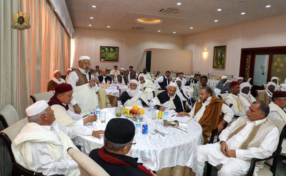 القبائل الليبية تدعم الجيش الوطنى لتحرير البلاد