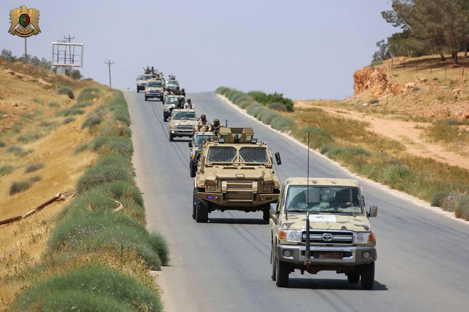 قوات الجيش الليبى تقتحم أوكار الإرهابيين فى درنة