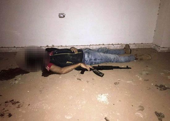 الداخلية تداهم 3 أوكار إرهابية بالجيزة وشمال سيناء وتقتل 40 تكفيريا (13)