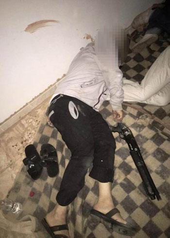 الداخلية تداهم 3 أوكار إرهابية بالجيزة وشمال سيناء وتقتل 40 تكفيريا (17)