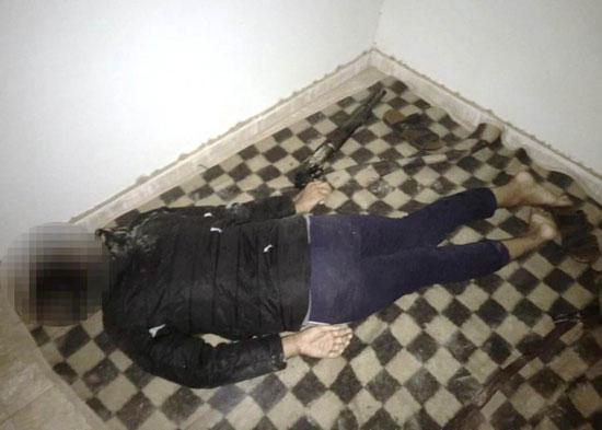 الداخلية تداهم 3 أوكار إرهابية بالجيزة وشمال سيناء وتقتل 40 تكفيريا (18)