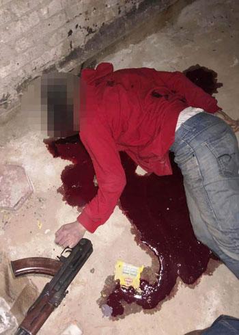 الداخلية تداهم 3 أوكار إرهابية بالجيزة وشمال سيناء وتقتل 40 تكفيريا (11)