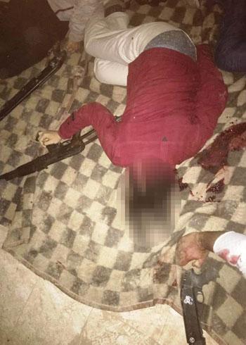 الداخلية تداهم 3 أوكار إرهابية بالجيزة وشمال سيناء وتقتل 40 تكفيريا (19)